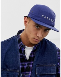 Parlez Anderson Nylon Cap In Navy