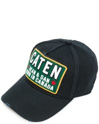 DSQUARED2 Caten Patch Baseball Cap