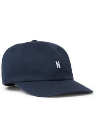 Norse Projects Logo Embroidered Cotton Twill Baseball Cap