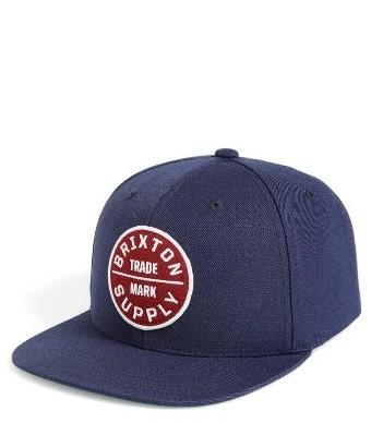 purchase cheap 52402 1e47e ... Brixton Oath Iii Snapback Baseball Cap