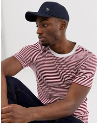 Paul Smith Zebra Logo Cap In Navy