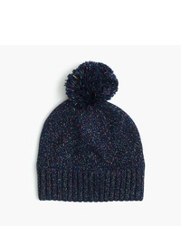 J.Crew Girls Speckled Cotton Beanie Hat