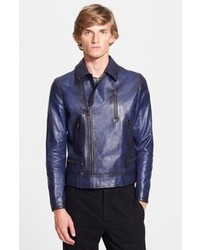 Navy biker jacket original 8633265