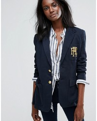 Polo Ralph Lauren Blazer With Logo Crest