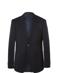 Hugo Boss Blue Jeremy Virgin Wool Piqu Blazer