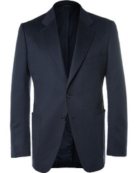 Tom Ford Blue Oconnor Slim Fit Unstructured Cashmere Blazer