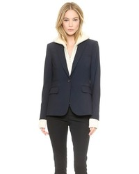 Classic wool jacket with upstate dickey medium 166950