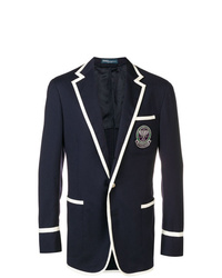 Polo Ralph Lauren Contrasting Panels Blazer