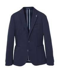 Mango Delta Suit Jacket Navy