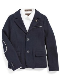 Armani Junior Elbow Patch Blazer