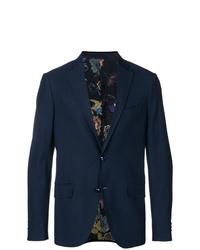 Etro Embellished Button Blazer