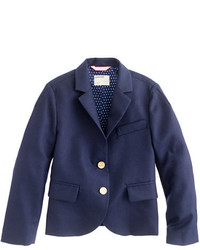 J.Crew Girls Two Button Schoolboy Blazer