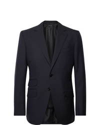 Tom Ford Navy Oconnor Slim Fit Wool Suit Jacket