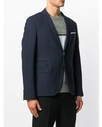 Neil Barrett Pocket Square Blazer