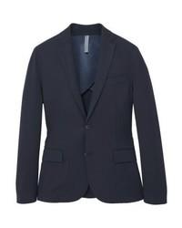 Mango Sigma Suit Jacket Navy