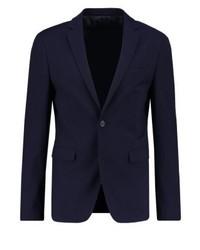 YOURTURN Suit Jacket Dark Blue