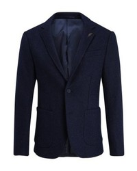 Pier One Suit Jacket Navy