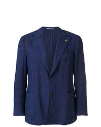 Gabriele Pasini Textured Single Breasted Blazer