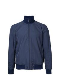 Kent & Curwen Bomber Jacket Blue