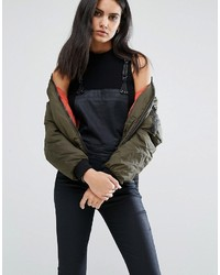 G star bomber jacket with zip pocket detail medium 1127168