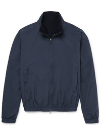 Loro Piana Reversible Storm System Shell And Cashmere Bomber Jacket