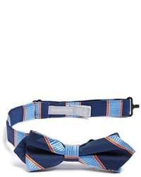 Nordstrom Mike Stripe Silk Bow Tie
