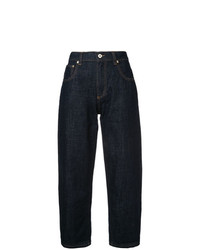 Carven Cropped Wide Jeans