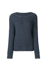 Fabiana Filippi Bead Embellished Knitted Sweater