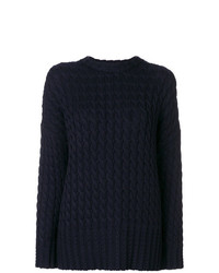 Victoria Victoria Beckham Drop Shoulder Sweater