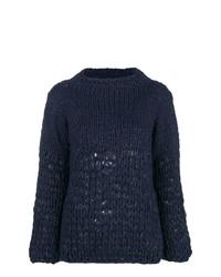 Gentry Portofino Lurex Knit Jumper
