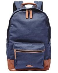 Estate canvas backpack black medium 446725