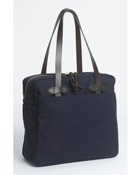 Filson Canvas Tote Bag Navy One Size