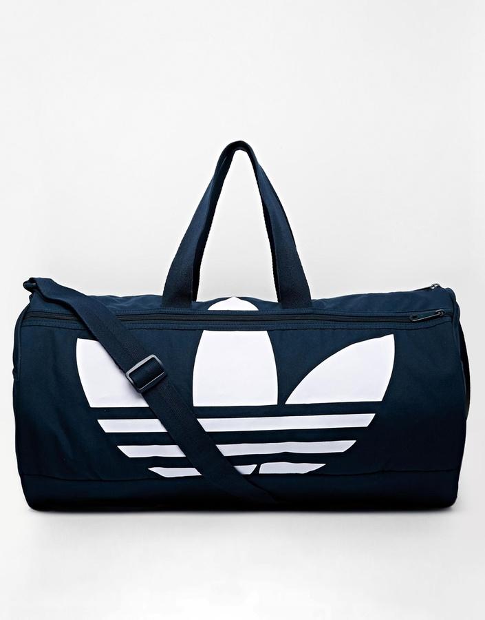 06b1c0393d63 ... adidas Originals Canvas Duffle Bag ...