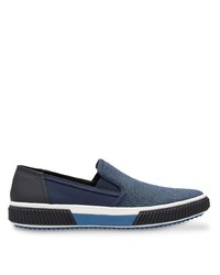 Prada Technical Mesh Paneled Sneakers