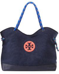 Navy Canvas Tote Bag