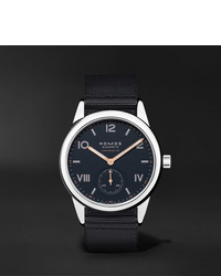 NOMOS Glashütte Club Campus Neomatik Automatic 395mm Stainless Steel And Canvas Watch Ref No 767