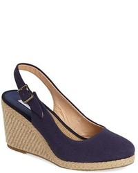 Dune London Karley Espadrille Slingback Wedge
