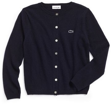 Lacoste Knit Cardigan