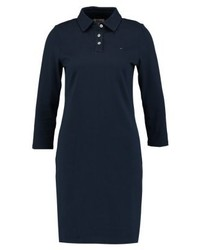 Tommy Hilfiger Striped Polo Jersey Dress Blue