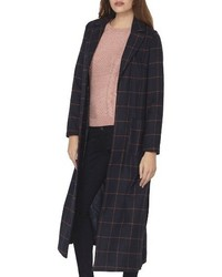 Dorothy Perkins Check Maxi Coat