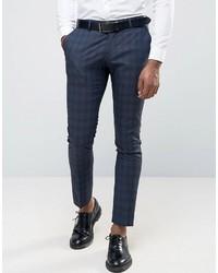 Wedding check suit pants medium 1048477
