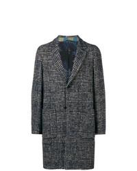 Etro Checkered Print Coat