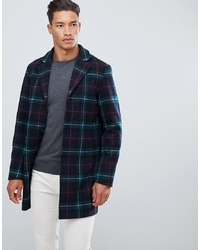 Jack & Jones Originals Check Overcoat