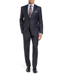 Ryan classic fit check wool suit medium 844125
