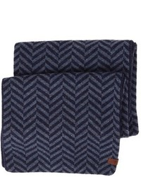 Reversible chevron knit scarf medium 355089