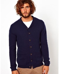 Lambswool rich shawl neck cardigan medium 10647
