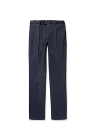 Incotex Four Season Relaxed Fit Cotton Blend Chinos