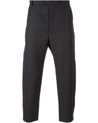 Matthew Miller Cropped Slim Fit Trousers
