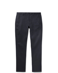 A.P.C. Navy Classic Cotton Gabardine Chinos