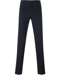 Z Zegna Concealed Button Chino Trousers